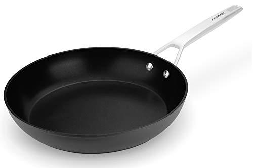 Frying Pan, MSMK 12-inch Large Nonstick Pan Egg Skillet, Induction Compatible, Oven Safe, Dishwasher Safe Cookware For Egg, Pancake, Waffle, Omelet, Burger, Fish, Chicken, Bacon, Steak