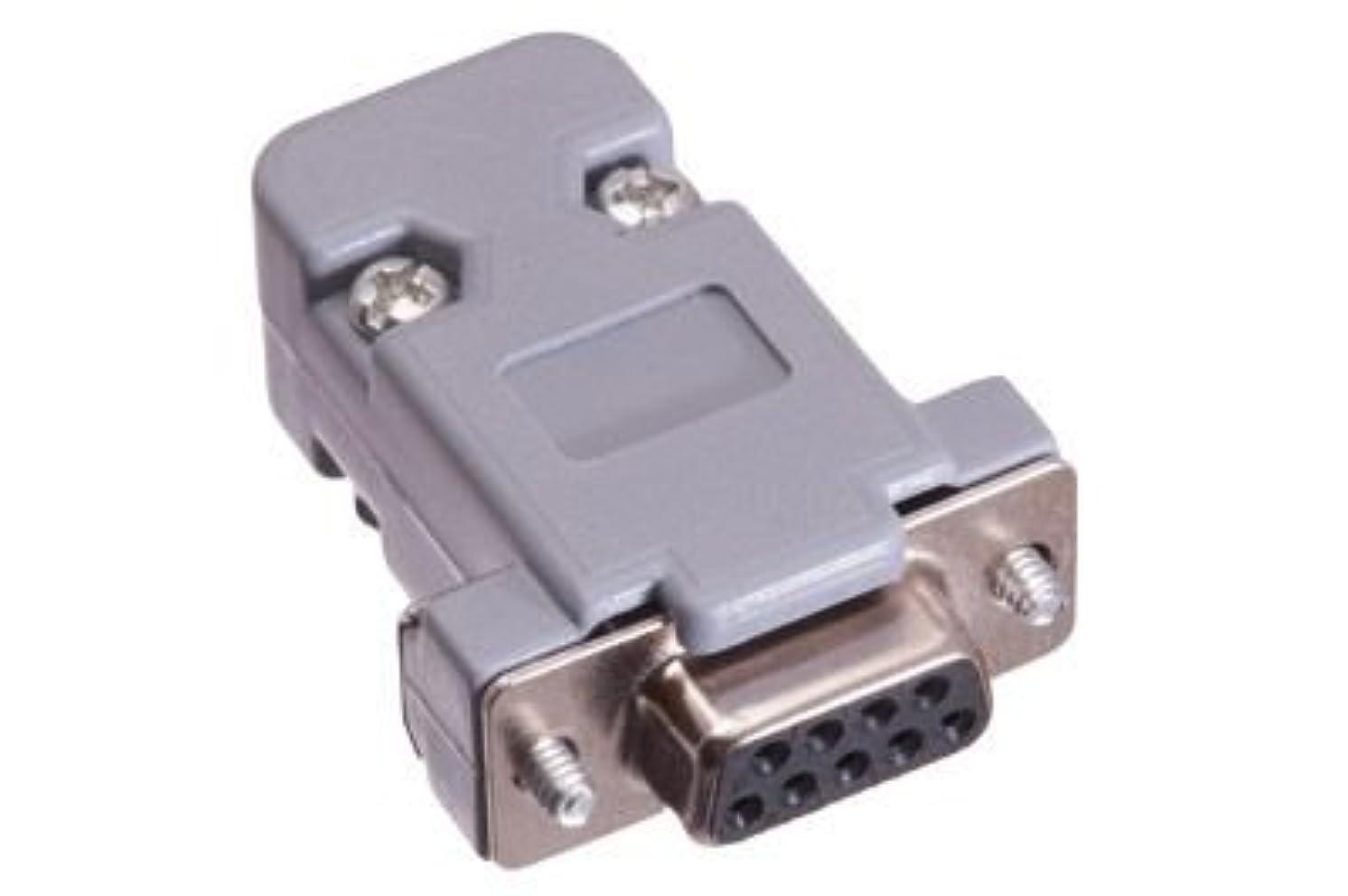 ECore Cables 1100 DB9 Female Crimp Connector Kit - Plastic