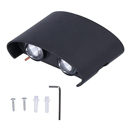 Shanrya Lámpara De Pared LED, 4.7x3.1x1.4in Lámpara De Pasillo para Patio