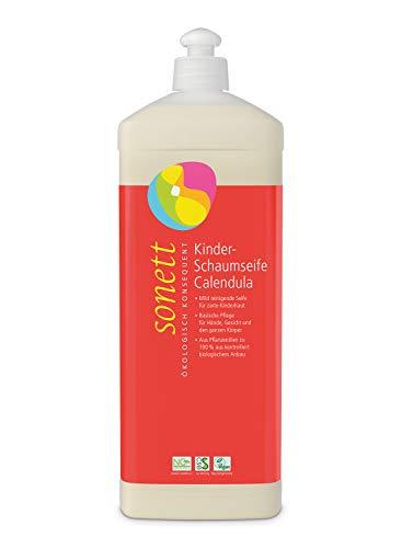 Kinder-Schaumseife Calendula: Mild reinigende Seife für zarte Kinderhaut, 1 l