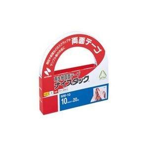 (業務用10セット) ニチバン 両面テープ ナイスタック 【幅10mm×長さ20m】 NW-10 〈簡易梱包
