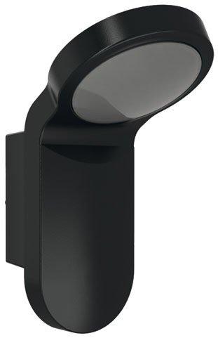 ESYLUX 4370615 LED-lamp 14 W 5000 K, gegoten aluminium en kunststof, OL 100LED 5 K, zwart