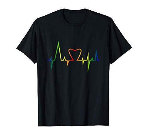 Arcobaleno Mese Dell'Orgoglio LGBT Maglietta