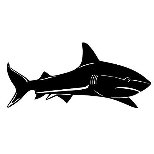 TMANQ 15.2 * 7CM SEA Shark Fish Vinyl Aufkleber Autoaufkleber Lustige Tierkörperdekoration Aufkleber-A