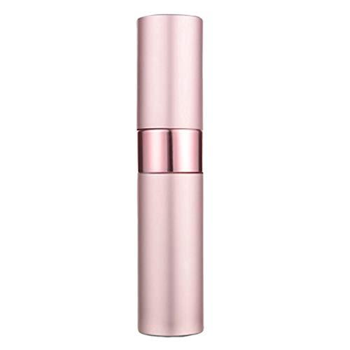XdiseD9Xsmao Atomiseur Cosmétique Durable De Parfum en Aluminium Rechargeable De Bouteille De Jet Vide De 15ml Rose