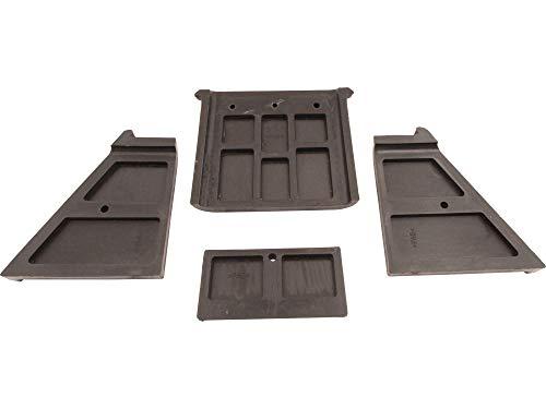 SECURA Kunststoffführungen oben kompatibel mit Rotenbach VLS10T-03E Holzspalter