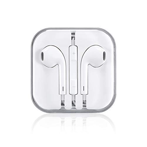 Wire-Controlled Bass Headset Phone Tablet Earbuds with Mic