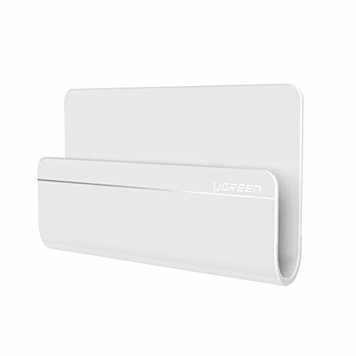 UGREEN Ladehalterung Handy Wandhalterung Handyhalterung für Wand kompatibel mit iPhone 11 Pro Max X 8 Plus kompatibel mit Galaxy S20 S10 A50 Huawei Mate 20 P30 usw.