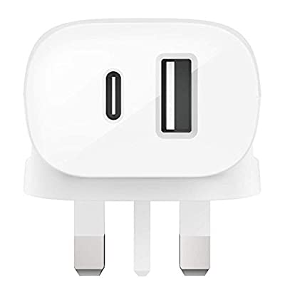 Belkin Boost Charge USB-C Wall Charger 30 W (Fast Charger for iPhone, iPad, Samsung, Pixel, Huawei, and More)