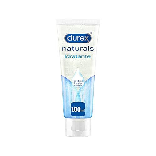 Durex Naturals Gel Lubrificante Idratante con Acido Ialuronico, 100 ml