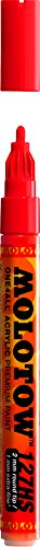 Molotow ONE4ALL Acrylic Paint Marker, 2mm, Traffic Red, 1...