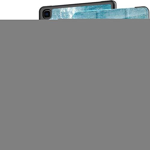 Funda para Samsung Galaxy Tab A7 Tableta de 10,4 Pulgadas 2020 (sm-t500 / t505 / t507), Seis Delfines Nariz de Botella Surfing Waves Sugarloaf Soporte de múltiples ángulos con activación/suspensión