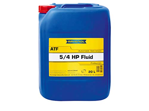 20 Liter RAVENOL ATF 5/4 HP Fluid Automatikgetriebeöl Made in Germany