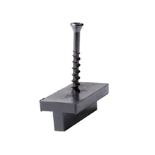 NewTechWood PCHFS50 50-Square Feet Composite Decking Hidden Fastener, Black