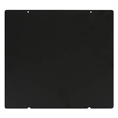Tuneway 253.8x241Mm Double Sided Textured Pei Spring Steel Sheet Powder Coated Pei Build Plate for Prusa I3 Mk2.5S Mk3 Mk3S