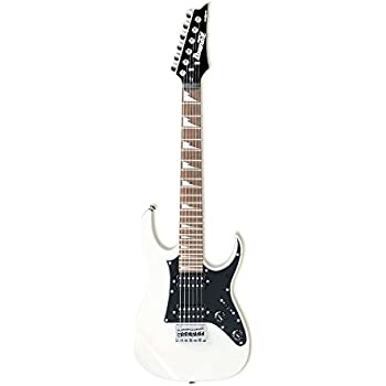 Ibanez GRGM21-WHGIO Mikro - Guitarra eléctrica (tamaño 3/4 ...