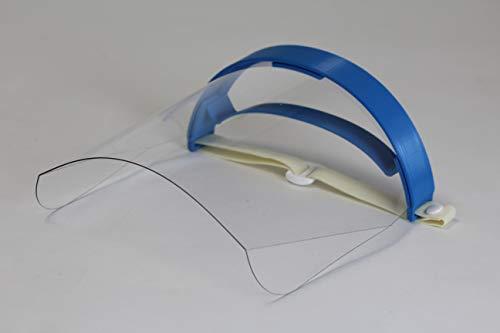 Protectores faciales de impresión 3D PLA y PET-G. Protector facial fabricado en la UE. Superlight con máscara facial CE(EN166)