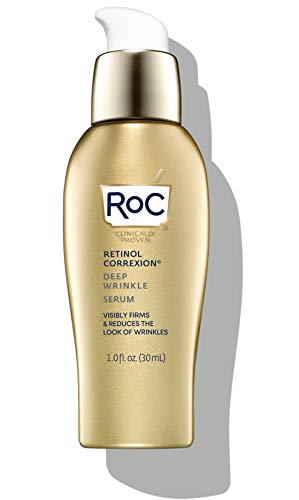 RoC Retinol Correxion Deep Wrinkle Retinol Serum for Face, 1 Ounce (Packaging May Vary)