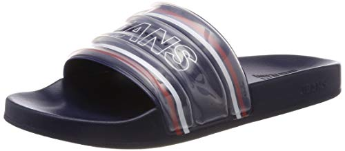 Tommy Jeans Hilfiger Denim Seasonal Poolslide, Infradito Uomo, Blu (Black Iris 431), 43 EU