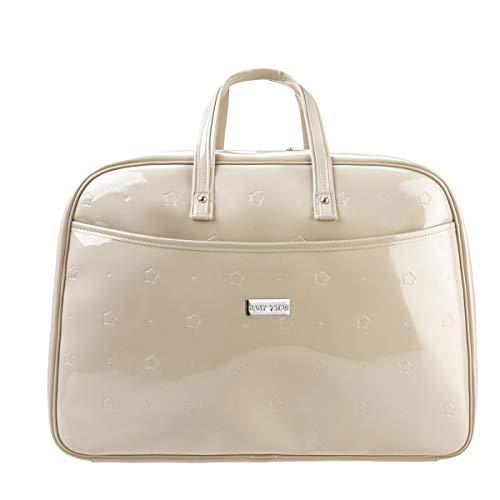 Baby Star - Bolso maleta maternidad, Charol Camel