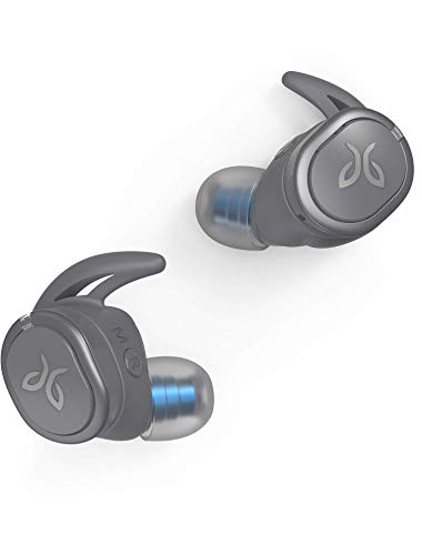 Jaybird RUN XT True Wireless Headphones (Storm Grey/Glacier) (Renewed)