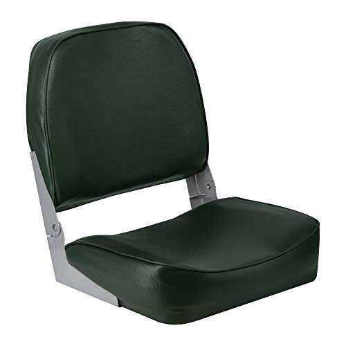 The Wise Company 3313-713 Super Value Series Low Back Boat Seat, Green