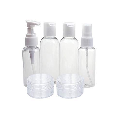 Kapian Reise Flaschen Set Nachfüllbare Leere Reiseflaschen Kosmetik Container für Shampoo,...