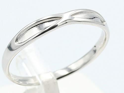 [京都ジュエリー工房] 結婚指輪 マリッジリング ペアリング メンズ レディース ユニセックス 指輪 11-5555 K10 ホワイトゴールド 18号