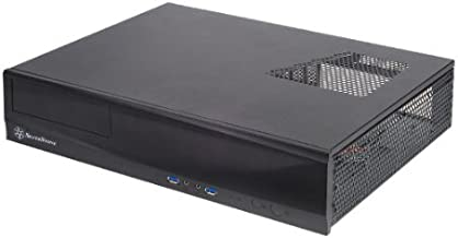 SilverStone Technology Milo Series Aluminum / Steel Micro-ATX Media Center / HTPC Case, Black (ML03B)