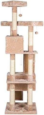 Multi-Level Cat Lowest price challenge Tree with Posts Manufacturer direct delivery Sisal-Covered Scratching Plush