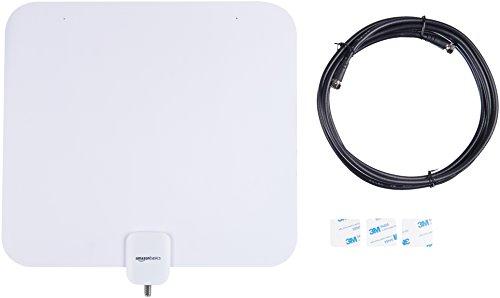 Amazon Basics Indoor Flat TV Antenna