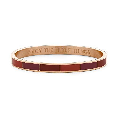 CO88 Steel Bangle enamel - Cuchillo multiusos, color rojo