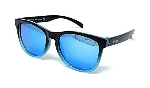 Occhiali da sole polarizzati per bambini - 100% protezione UV400 - Disponibile in vari colori squali Taglia única - Nero-blu