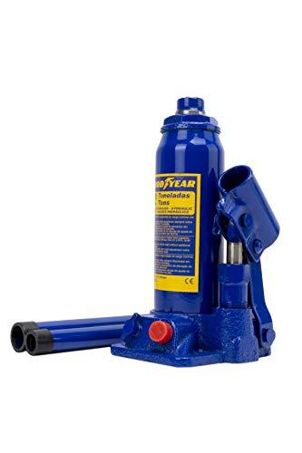 Goodyear Premium Martinetto idraulico Jack bottiglia - 2 Ton, 181 - 345 mm