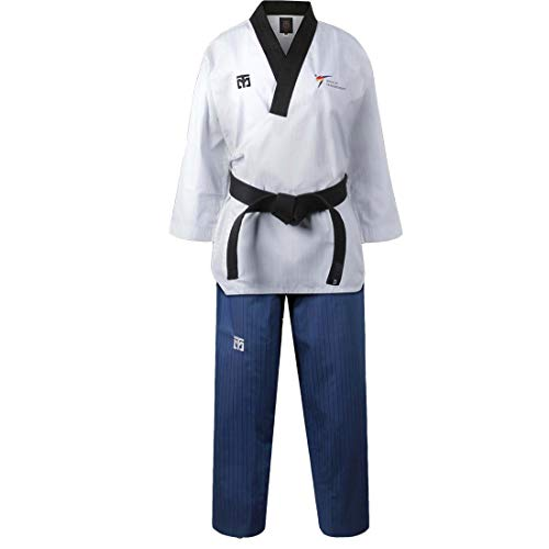 Mooto Premium Male Poom Uniform Taebek Poomsae Suits New WT Logo Taekwondo MMA