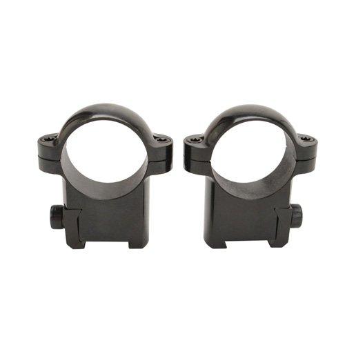 Burris Optics CZ-Style Rings 420130, 420140, Designed to Fit CZ Receiver - Mounting Accessories, Burris Rings Mount, CZ 527 Short-Action,Black,Medium,Black,Medium Height