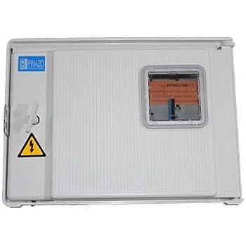 Todoelectrico - Caja 1 contador monofasico PNZ-CPM1-D2-M: Amazon.es: Bricolaje y herramientas