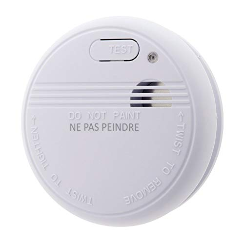 Détecteur de fumée NF - Garantie 5 ans - Autonomie 3 ans - Livré avec pile et accessoires de pose - Otio