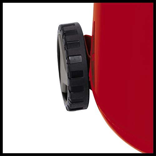 Einhell Kompressor TH-AC 240/50/10 OF (1500 W, 240 l/min Ansaugl., 50 l Kessel, 10 bar max. Betriebsdruck, öl- und wartungsarm, Druckminderer, Manometer) - 6