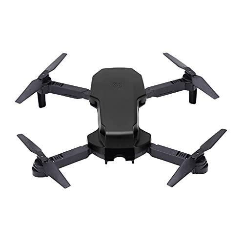 Gatuxe S3 Drone Fotografia Aerea, S3 Dual Camera RC Quadcopter Drone Pieghevole per Un Volo Sicuro(Nero)