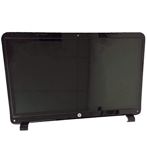 Screen Expert 15.6'' HD 1366x768 LCD Panel LED Screen Display with Touch Digitizer and Bezel Frame Assembly for HP Touchsmart Notebook 15-G021CY 15-G021DS 15-G014DX 15-G020NR P/N: 764877-001