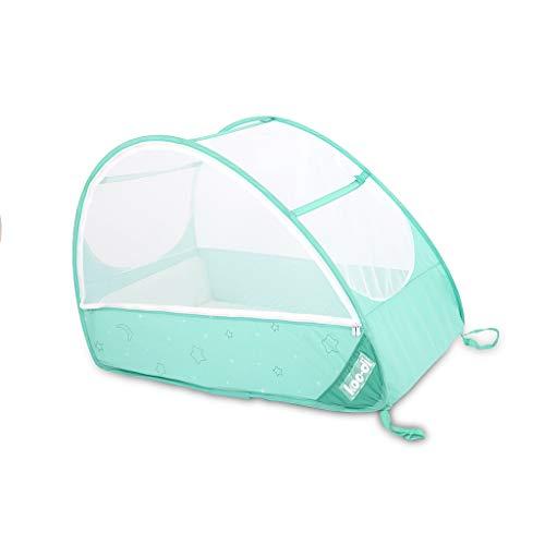 koo-di pop up Travel Bubble Cot Cockatoo con materasso e zanzariera–per bambini da 6a 18mesi