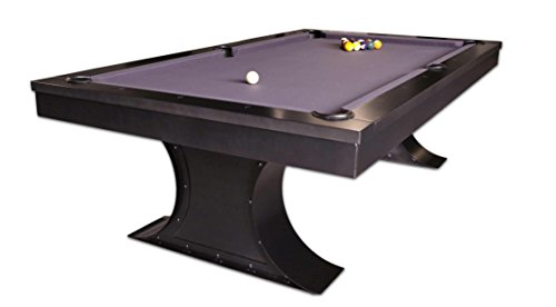 Best Deals! Plank and Hide Xane 8' Pool Table w/Billiard Accessories-Installation Included