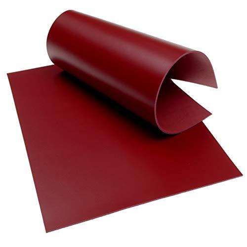 Klassen Leder AIX Rindsleder 2,2 mm Dick Rot Nr. 133 (297 x 420 mm, 1 x A3)