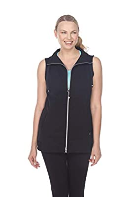 Neon Buddha Angelic Vest Black Small by Pure & Co