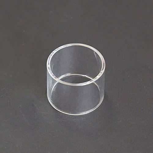 Denghui-ec 2ST Ersatzglas for Ammit Doppel 3 ml Ammit 25 2 ml Ersatzröhre elektronische Zigarette Vaporizer DIY Tools Ersatzglas (Farbe : for Ammit Dual 3ml)