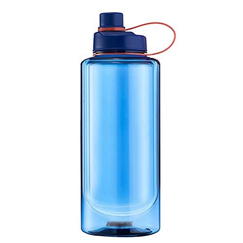 Botella De Agua Deportiva Botella De Agua Motivacional De 64 Oz 2 litros Botella De Bebidas A Prueba De Fugas para Deportes Ciclismo Camping1.5L 1L Botella De Agua Deportiva Blue,1000ml