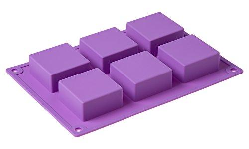 6腔广场手工皂DIY蛋糕模具硅胶模具的自制工艺