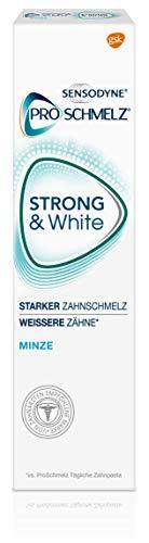 test Sensodyne ProSchmelz STRONG & White, tägliche Zahnpasta zum Aufhellen mit Fluorid, für Säuren… Deutschland