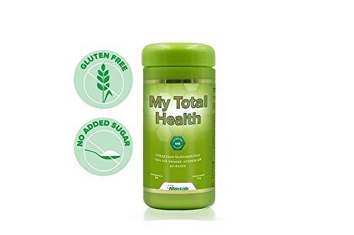 Meetab - My Total Health - Integratore Multivitaminico con 145 elementi necessari al nostro organismo